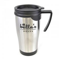Personalised Dali Metal Colour Travel Mug