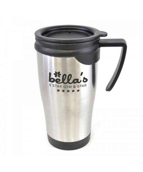 Personalised Dali Metal Travel Mug