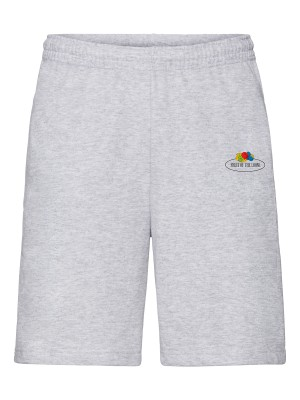 Plain Vintage shorts with small logo print Shorts Fruit of the Loom 240 GSM