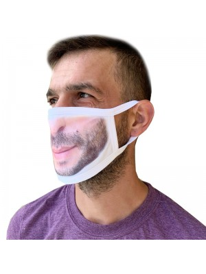 Personalised Your Photo Image on Face Masks Novelty
