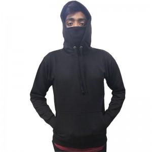 Ninja Face Mask Pullover Hoodie - Stars & Stripes