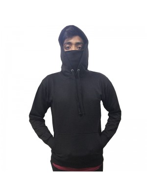 Ninja Face Mask Pullover Hoodie - Stars & Stripes