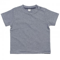 Sustainable & Organic T-Shirts Baby stripy T Kids  Ecological BABYBUGZ brand wear