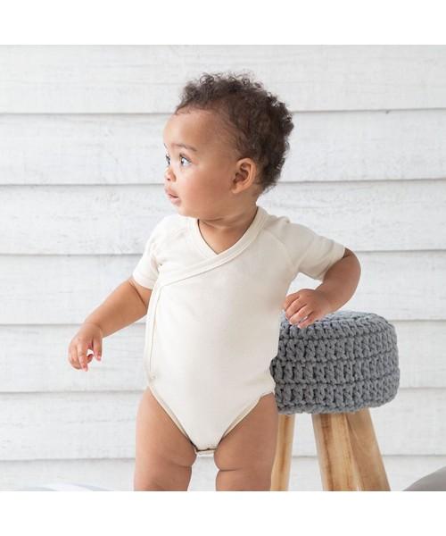 Sustainable & Organic Babywear Baby organic kimono bodysuit Kids  Ecological BABYBUGZ brand wear