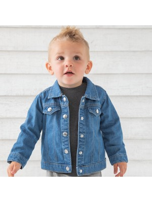 Sustainable & Organic Jackets Baby Rocks denim jacket Kids  Ecological BABYBUGZ brand wear
