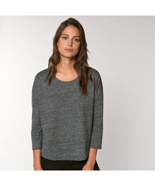 Sustainable & Organic T-Shirts Women's Stella Waver slub women's ¾ sleeve dropped shoulder t-shirt (STTW114) Adults  Ecological STANLEY/STELLA brand wear
