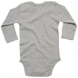 Sustainable & Organic Babywear Baby organic long sleeve bodysuit Kids  Ecological BABYBUGZ brand wear