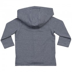 Sustainable & Organic T-Shirts Baby stripy hooded T Kids  Ecological BABYBUGZ brand wear