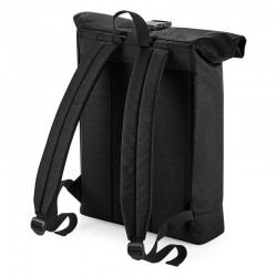 Sustainable & Organic Bags Recycled rolled-top backpack   Ecological BagBase brand wear