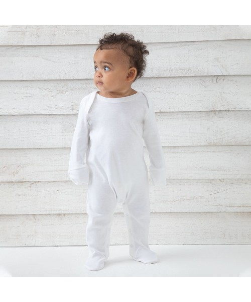 Sustainable & Organic Babywear Baby organic envelope sleepsuit with mitts Kids  Ecological BABYBUGZ brand wear