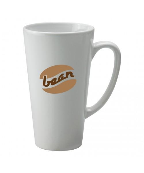Personalised Cafe Latte White Mug