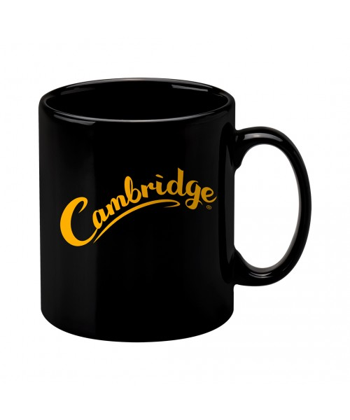 Personalised Cambridge Mug - Black