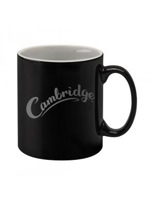Personalised Cambridge Mug - Black Duo