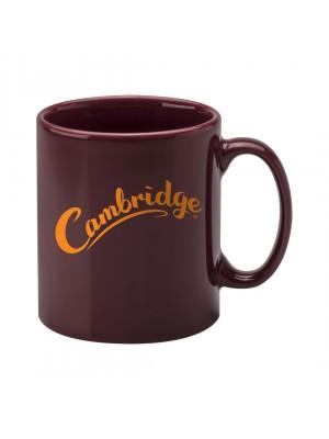 Personalised Cambridge Mug - Cranberry