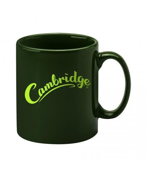 Personalised Cambridge Mug -  Racing Green