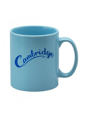 Personalised Cambridge Mug -  Light Blue