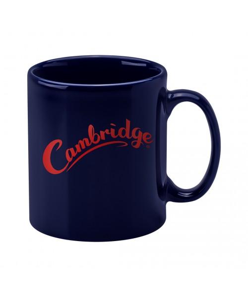 Personalised Cambridge Mug -  Midnight Blue