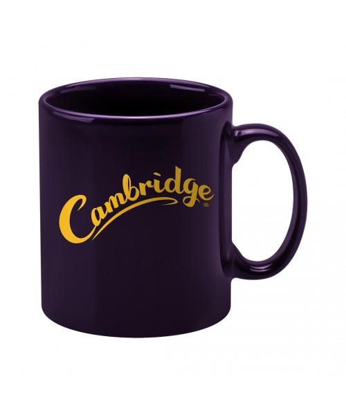 Personalised Cambridge Mug - Purple