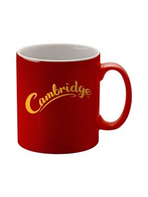 Personalised Cambridge Mug -  Duo Red