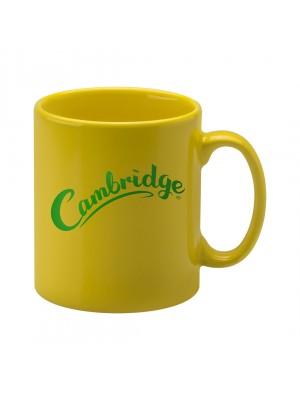 Personalised Cambridge Mug -  Yellow
