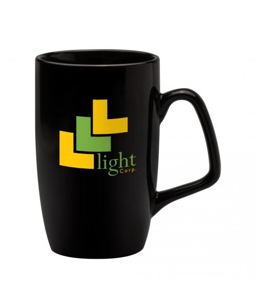 Personalised Corporate Black Mug