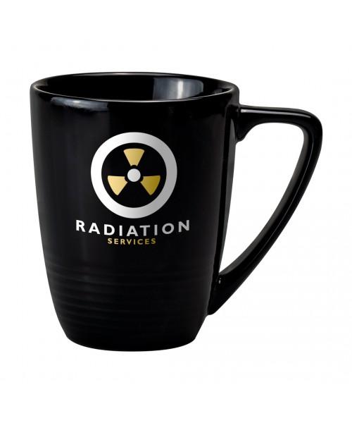 Personalised Quantum Black Mug