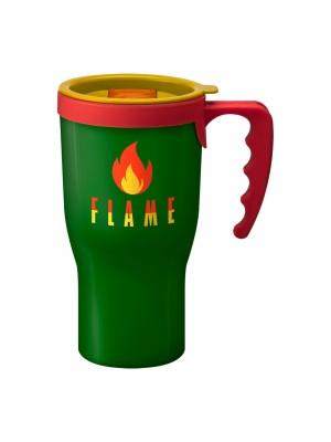 Personalised Challenger Mug Green