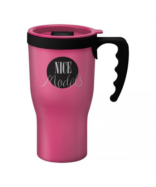 Personalised Challenger Mug Pink