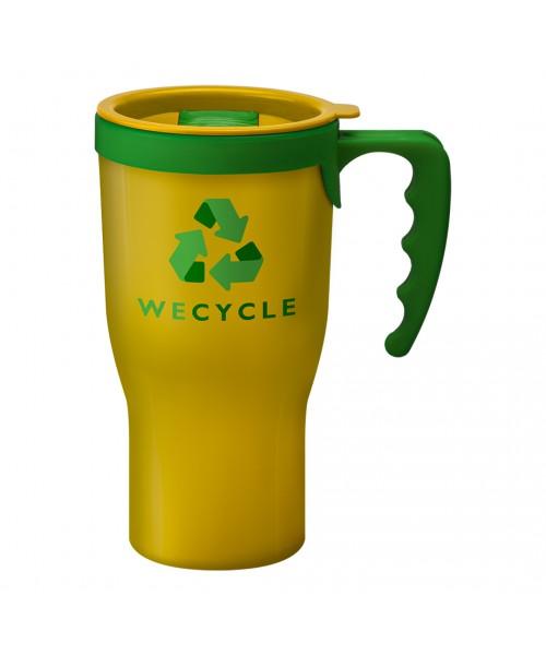 Personalised Challenger Mug Yellow
