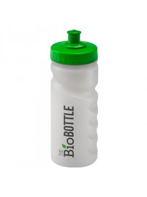 Personalised Sports Bottle 500ml Nat Bio