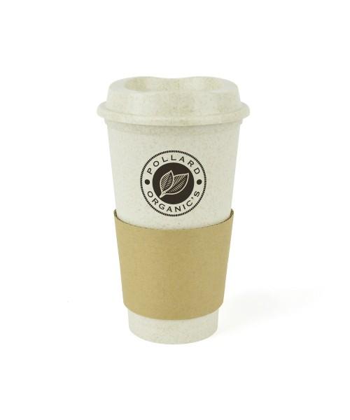 Personalised Bamboo Cafe Take Out Mug
