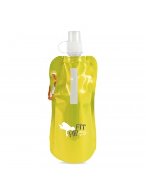 Personalised Metallic Fold Up Bottle