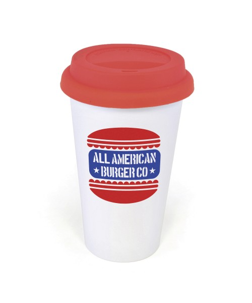 Personalised Plastic Take Out Mug