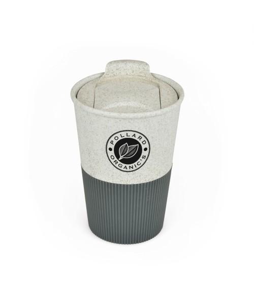 Personalised Bamboo Grippy Take Out Mug