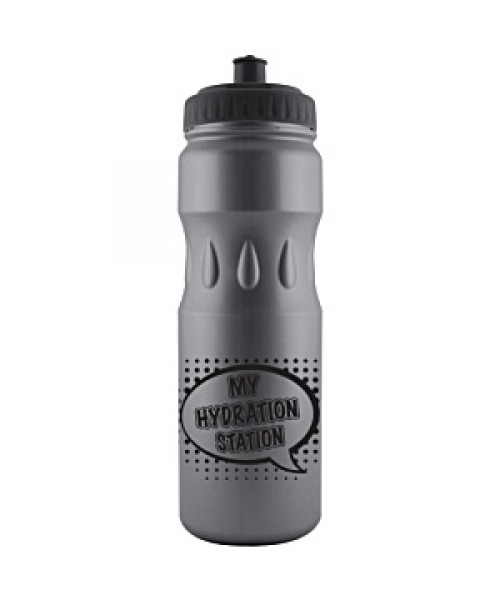Personalised Teardrop 750ml Bottle Black