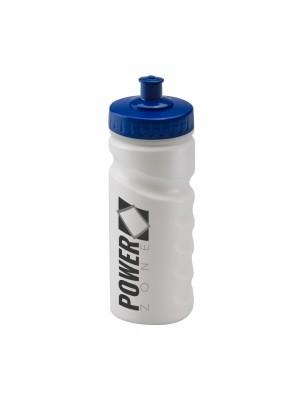 Personalised Sports Bottle 500ml White