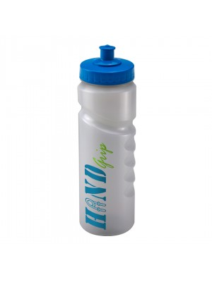 Personalised Sports Bottle 750ml Natural