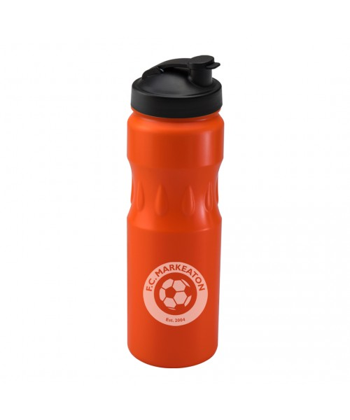 Personalised Teardrop Sports Orange 750ml