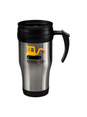 Personalised Stainless Steel Thermal Mug