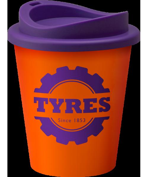 Personalised Universal Vending Cup Orange