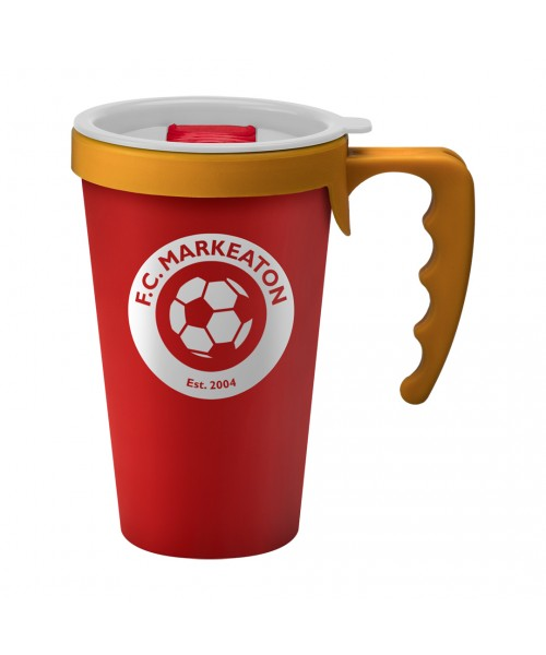 Personalised Universal Mug Red