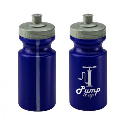 Personalised Viz Sports Bottle 500ml Blue