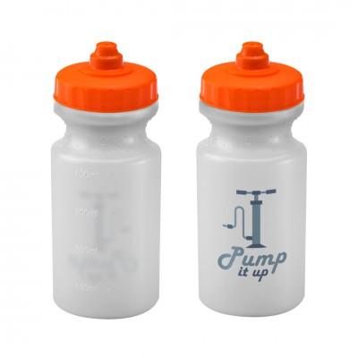 Personalised Viz Sport Bottle 500ml Natural