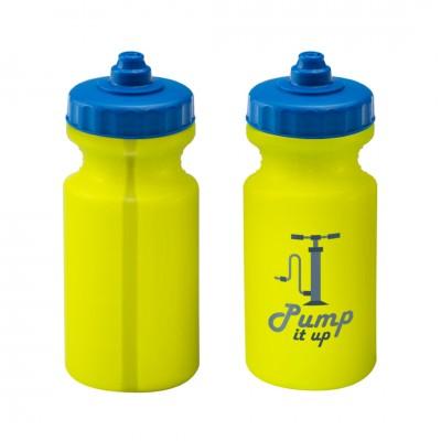 Personalised Viz Sports Bottle 500ml Lumo