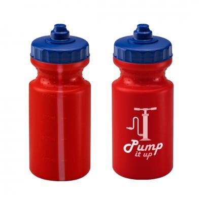 Personalised Viz Sports Bottle 500ml Red
