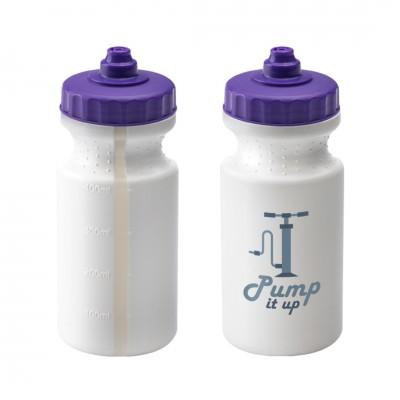 Personalised Viz Sports Bottle 500ml White