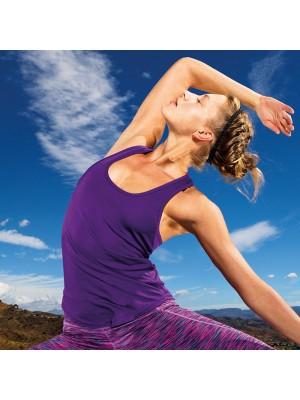 Plain Women's TriDri® performance strap back vest Tridri 135 GSM