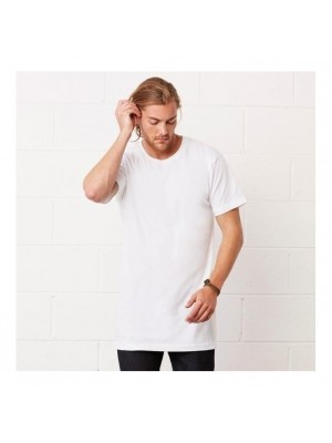 Plain urban tee Long body  Bella + Canvas 142 GSM