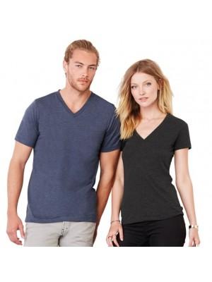 Plain T-Shirt V-Neck  Bella + Canvas 145gsm