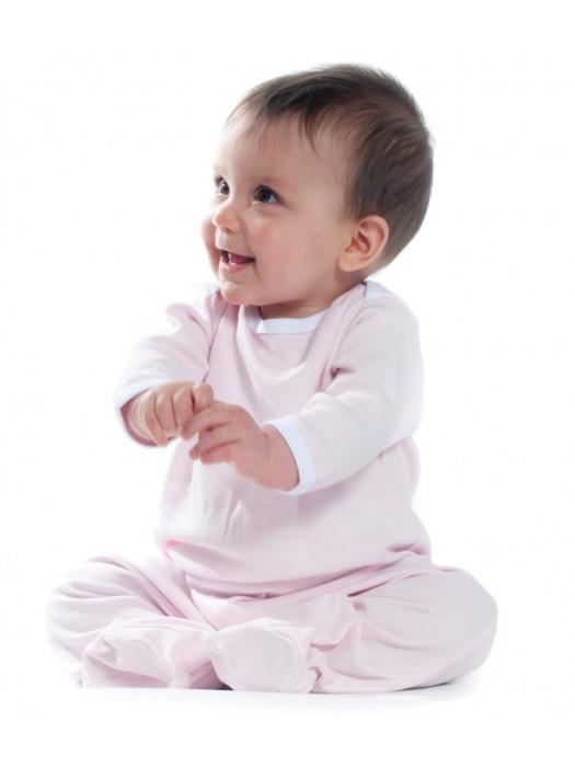 Plain Sleepsuit Contrast Larkwood 200 GSM Kids
